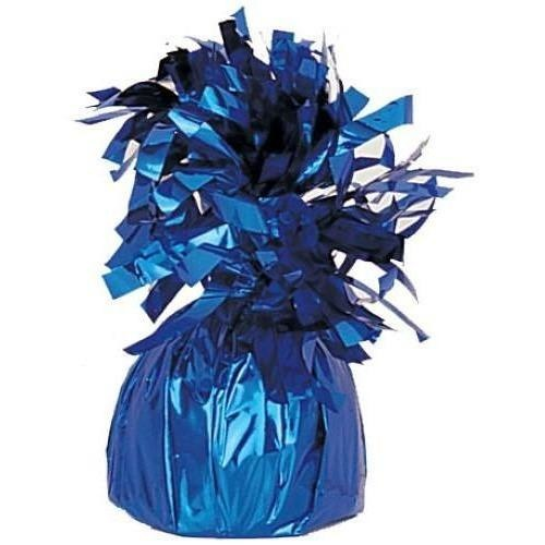 Balloon Weight Foil Blue #104943 - Pack of 6