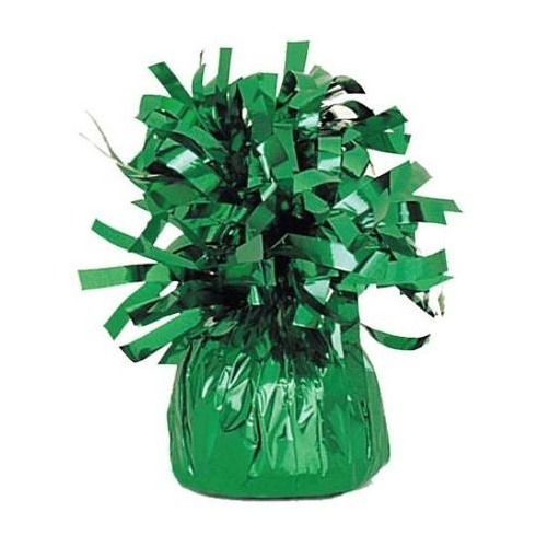 Balloon Weight Foil Green #104944 - Pack of 6