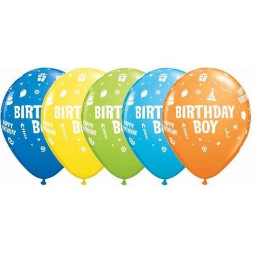 28cm Round Special Assorted Birthday Boy #1167725 - Pack of 25