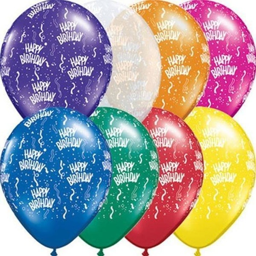 28cm Round Jewel Assorted Birthday-A-Round #12341 - Pack of 50