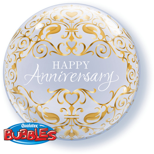 56cm Single Bubble Anniversary Classic #16660 - Each (Pkgd.)