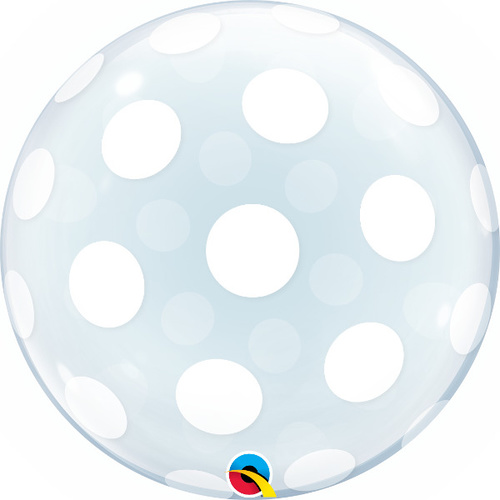 50cm Deco Bubble Big Polka Dots All Around #16872 - Each