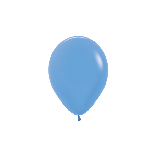 12cm Neon Blue (240) Sempertex Latex Balloons #206333 - Pack of 100