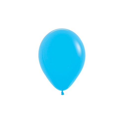 12cm Fashion Blue (040) Sempertex Latex Balloons #206357 - Pack of 100