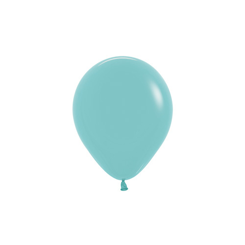 12cm Fashion Aquamarine (037) Sempertex Latex Balloons #206362 - Pack of 100