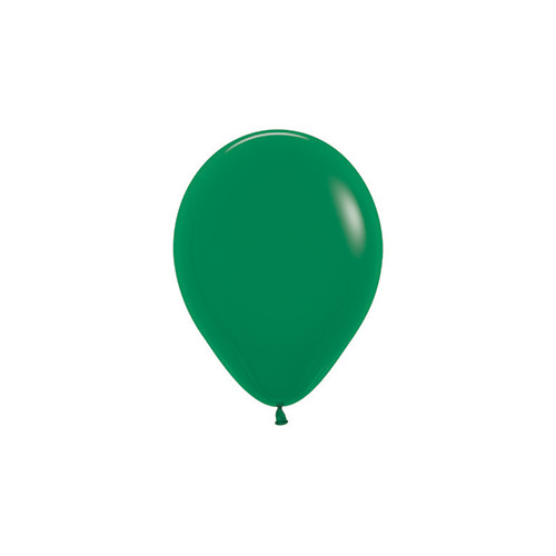 12cm Fashion Forest Green (032) Sempertex Latex Balloons #206363 - Pack of 100 TEMPORARILY UNAVAILABLE