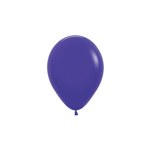 12cm Fashion Violet (051) Sempertex Latex Balloons #206371 - Pack of 100