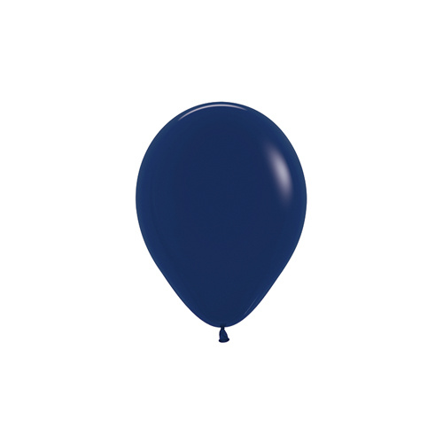 12cm Fashion Navy Blue (041) Sempertex Latex Balloons #206374 - Pack of 100 TEMPORARILY UNAVAILABLE