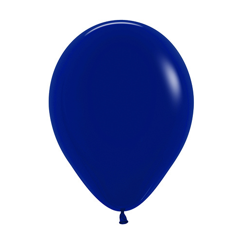30cm Fashion Navy Blue (044) Sempertex Latex Balloons #206434 - Pack of 100