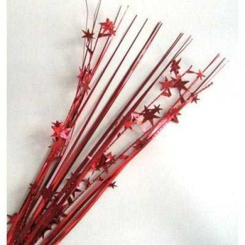Foil Spray Stars Red #207206 - Each