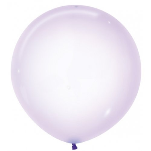 60cm Crystal Pastel Lilac (350) Sempertex Latex Balloons #222676 - Pack of 3