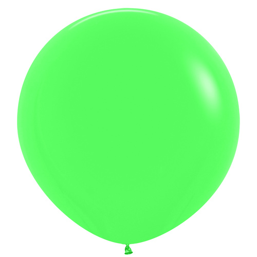 90cm Fashion Green (030) Sempertex Latex Balloons #222714 - Pack of 3