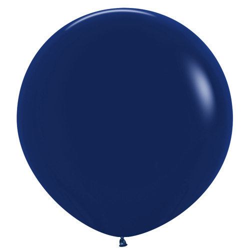 90cm Fashion Navy Blue (044) Sempertex Latex Balloons #222717 - Pack of 3