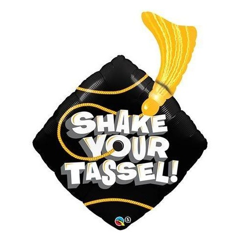93cm Shape Foil Shake Your Tassel! #23911 - Each (SW Pkgd.)