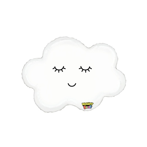 Shape Foil Might Sleepy Cloud 76cm #2535873 - Each (Pkgd.) TEMPORARILY UNAVAILABLE