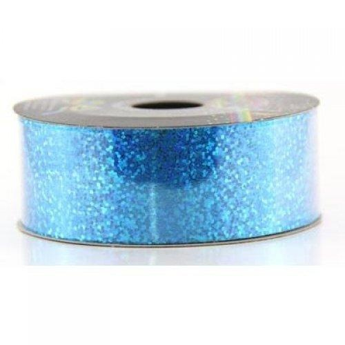 Ribbon Tear Holographic Peacock Blue 45m long x 32mm wide #30205605 - Each