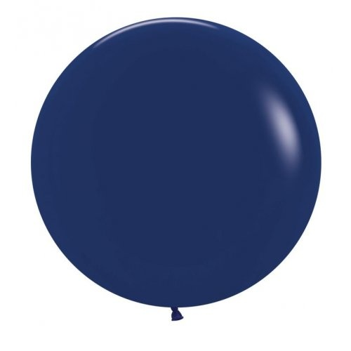 60cm Round Fashion Navy Blue Decrotex Plain Latex #30222665 - Pack of 3 TEMPORARILY UNAVAILABLE