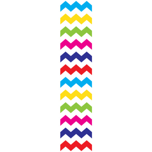 Chevron Bright Rainbow #09 Poly 200 Yards #32686 - Each SPECIAL ORDER ITEM