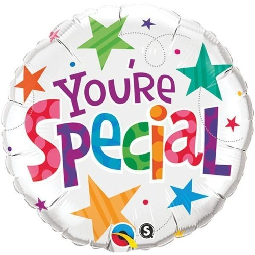 45cm Round Foil You're Special Stars #33341 - Each (Pkgd.)