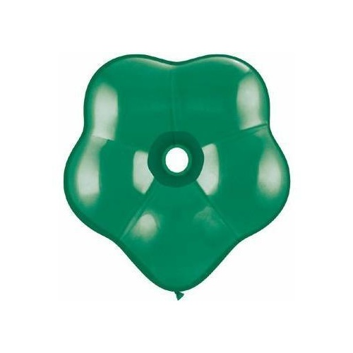 40cm Blossom Emerald Green Qualatex Plain Latex Blossom #37811 - Pack of 25 SPECIAL ORDER ITEM