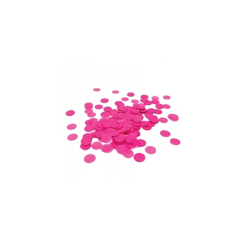 Paper Party Confetti Round Magenta 2cm 15g #400021 - Each (Pkgd.)