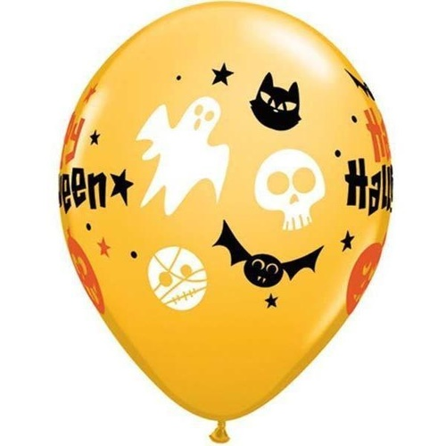 28cm Round Goldenrod Halloween Fun Icons #4016325 - Pack of 25