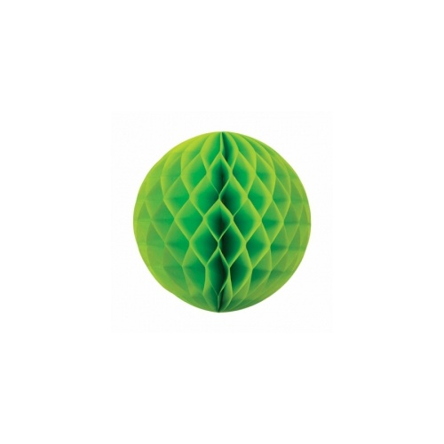Paper Party Honeycomb Ball Lime Green 25cm #405209LG - Each (Pkgd.)