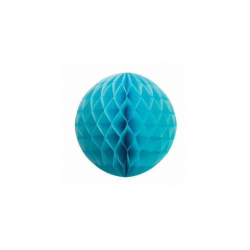 Paper Party Honeycomb Ball Pastel Blue 25cm #405209PB - Each (Pkgd.)