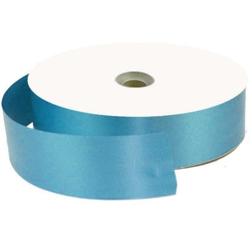 Ribbon Tear Satin Turquoise 100Y long x 31mm wide #405415CTP - Each
