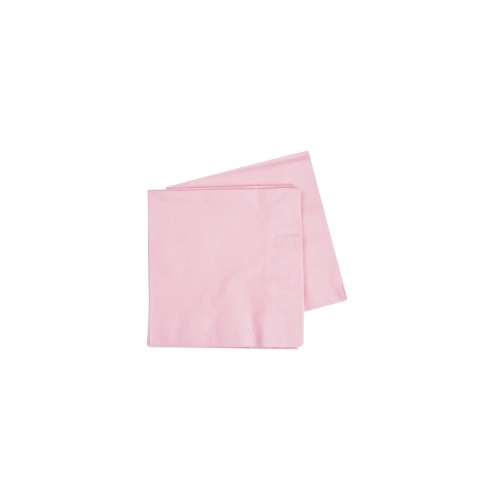 Lunch Napkin Classic Pink 330mm #406072CPP - 20Pk (Pkgd.)