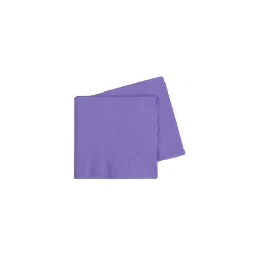 Lunch Napkin Lilac 330mm #406072LIP - 20Pk (Pkgd.)