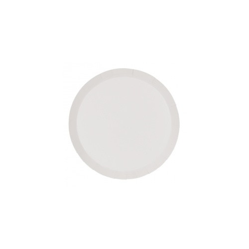 Paper Party Round Dinner Plate White 22.5cm #406110WHP - 10Pk (Pkgd.)