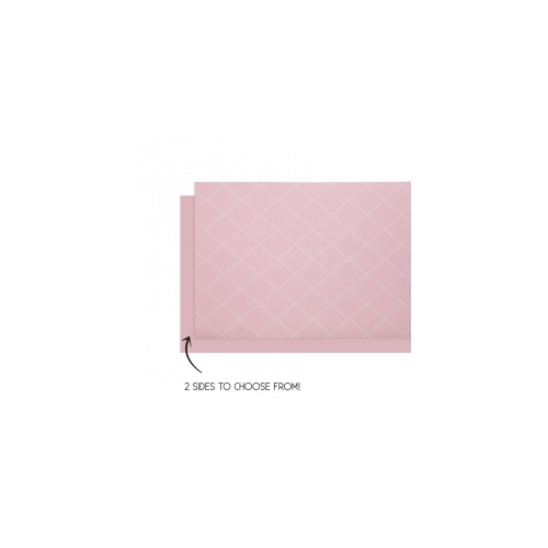Table Runner Reversible Classic Pink 4m x 35cm #406160CPP - Each (Pkgd.)
