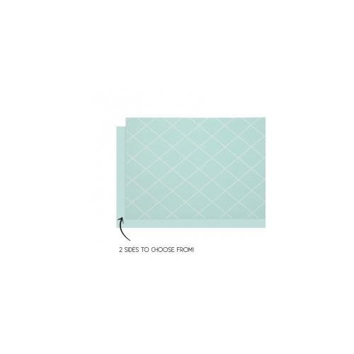 Table Runner Reversible Mint Green 4m x 35cm #406160MTP - Each (Pkgd.)