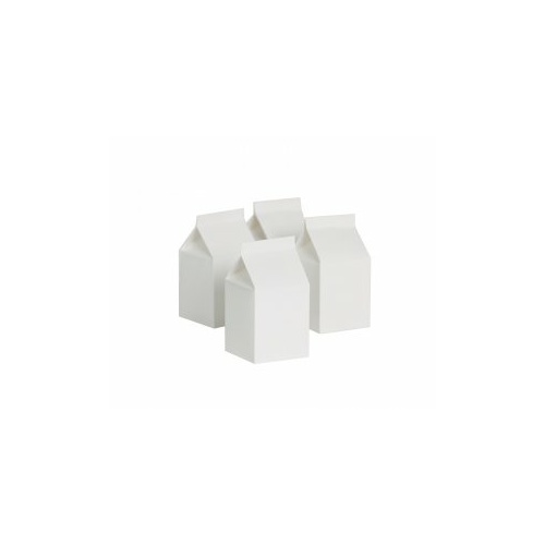 Paper Party Milk Box White #406220WHP - 10Pk (Pkgd.)