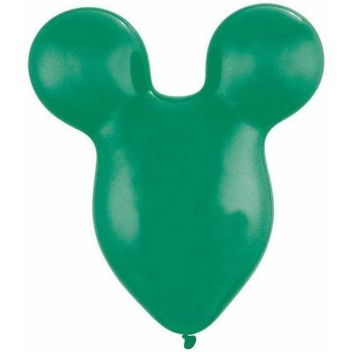 38cm Mousehead Emerald Green Qualatex Plain Latex #43845 - Pack of 50 SPECIAL ORDER ITEM