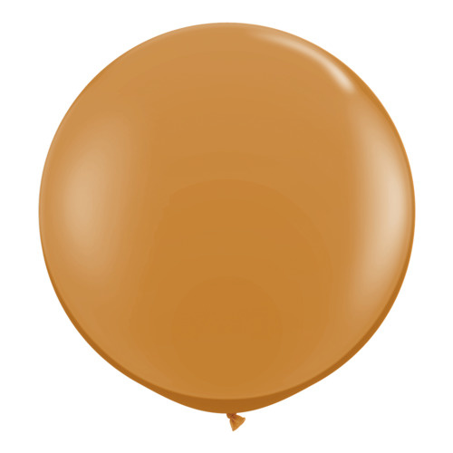 90cm Round Mocha Brown Qualatex Plain Latex #44564 - Pack of 2 TEMPORARILY UNAVAILABLE