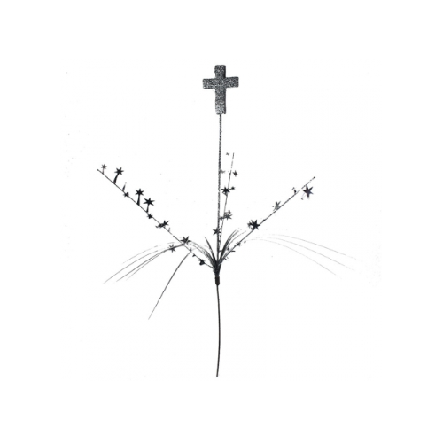 Foam Spray Silver  Cross #500357 - Each