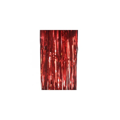 Metallic Curtain Apple Red #5350AR - Each (Pkgd.)