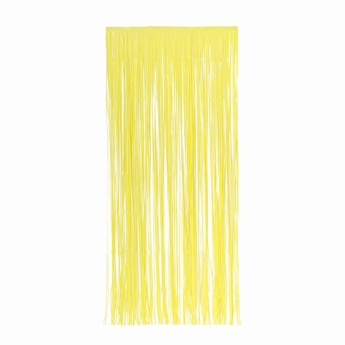 Matte Curtain Pastel Yellow #5350PY - Each (Pkgd.)