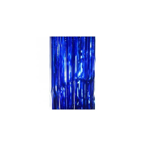 Metallic Curtain True Blue #5350TB - Each (Pkgd.)