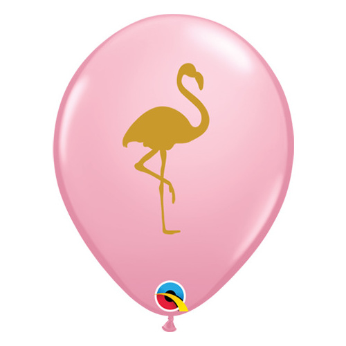 28cm Round Pink Flamingo #5743425 - Pack of 25