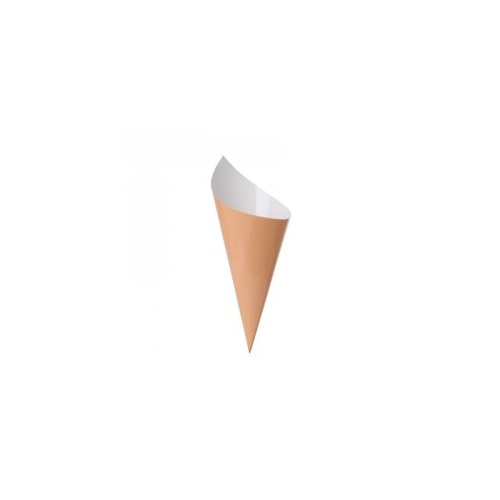 Paper Party Snack Cone Peach #6210PHP - 10Pk