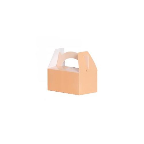 Paper Party Lunch Box Peach #6230PHP - 5Pk