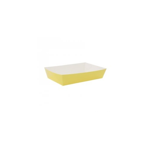 Paper Party Lunch Tray Pastel Yellow #6235PYP - 10Pk
