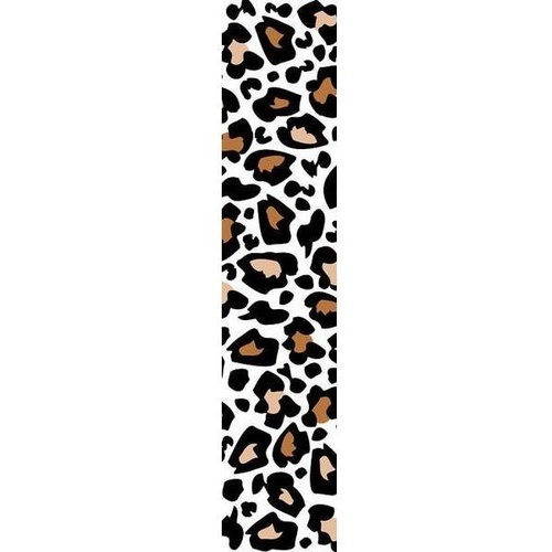 Poly Print  #09  200 Yards Cheetah Spots/White #68952 - Each SPECIAL ORDER ITEM
