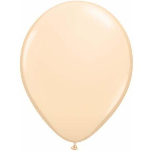 28cm Round Blush Qualatex Plain Latex #82667 - Pack of 100