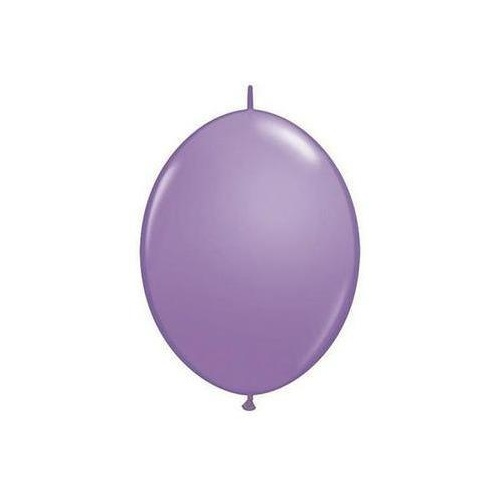 15cm Quick Link Spring Lilac Qualatex Quick Link Balloons #90200 - Pack of 50