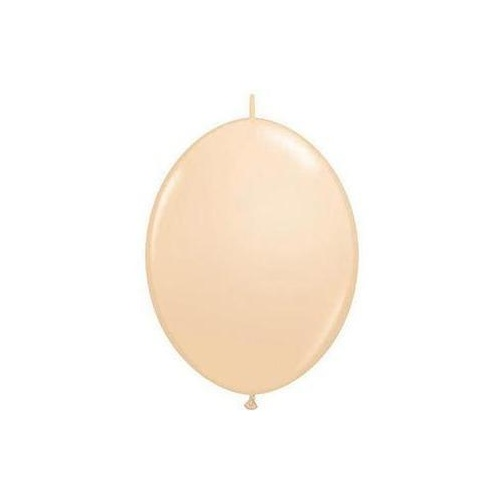 15cm Quick Link Blush Qualatex Quick Link Balloons #99867 - Pack of 50