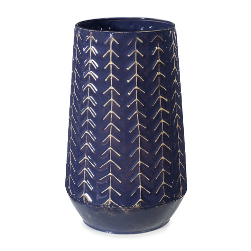 Vase Navik Navy Blue (29cmhx18cmd) #FI8368NB - Each